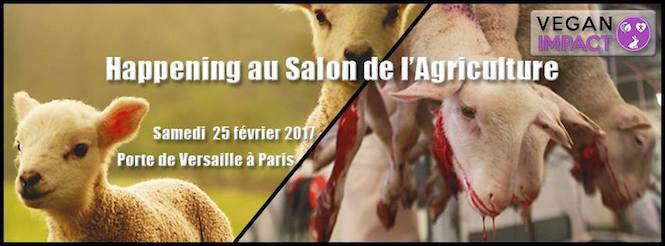 Des opposants au salon de l 39 agriculture for Billet salon de l agriculture