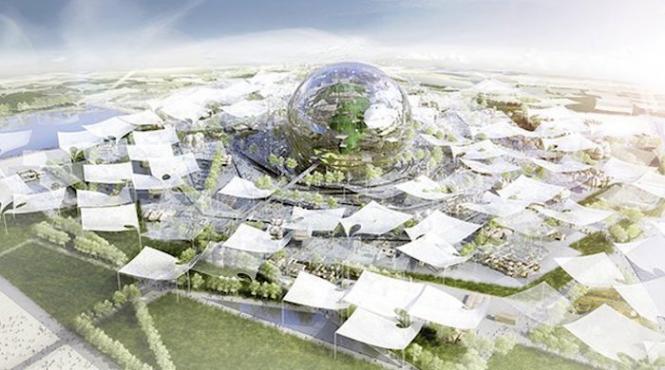 Le plateau de Saclay choisi pour accueillir le village global — Exposition universelle