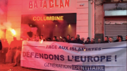 identitaires, antifasciste, manifestation, forces de l'ordre