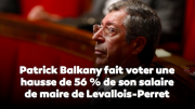 Patrick Balkany, augmentation, indemnité, maire