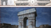 Christo, Arc, Triomphe, 2020
