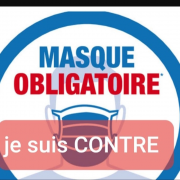 masque, covid19, contre, antimasque