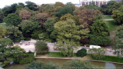 Buttes-Chaumont, Paris, travaux